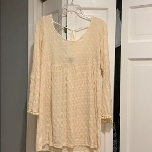 Pretty bathing suit cover up!